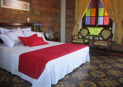 Hotel Santafe de Antioquia habitación Superior 1