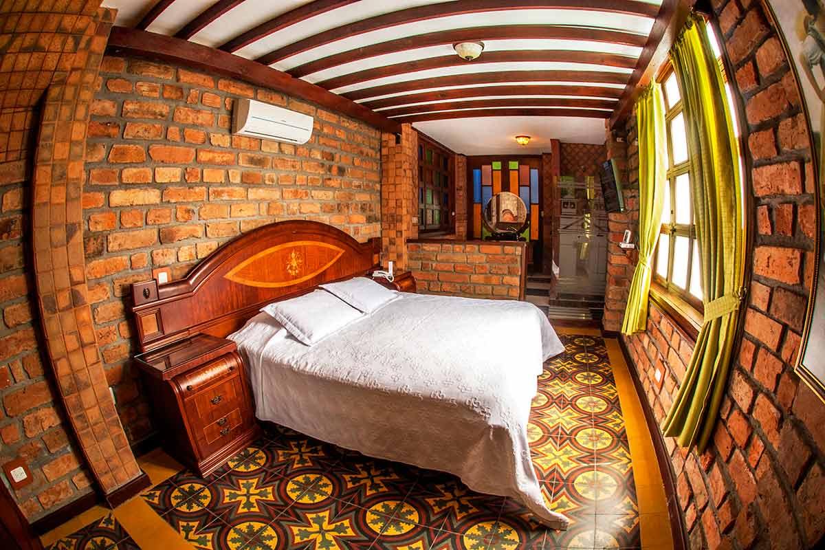 Hotel Santafe de Antioquia habitación Suite 1