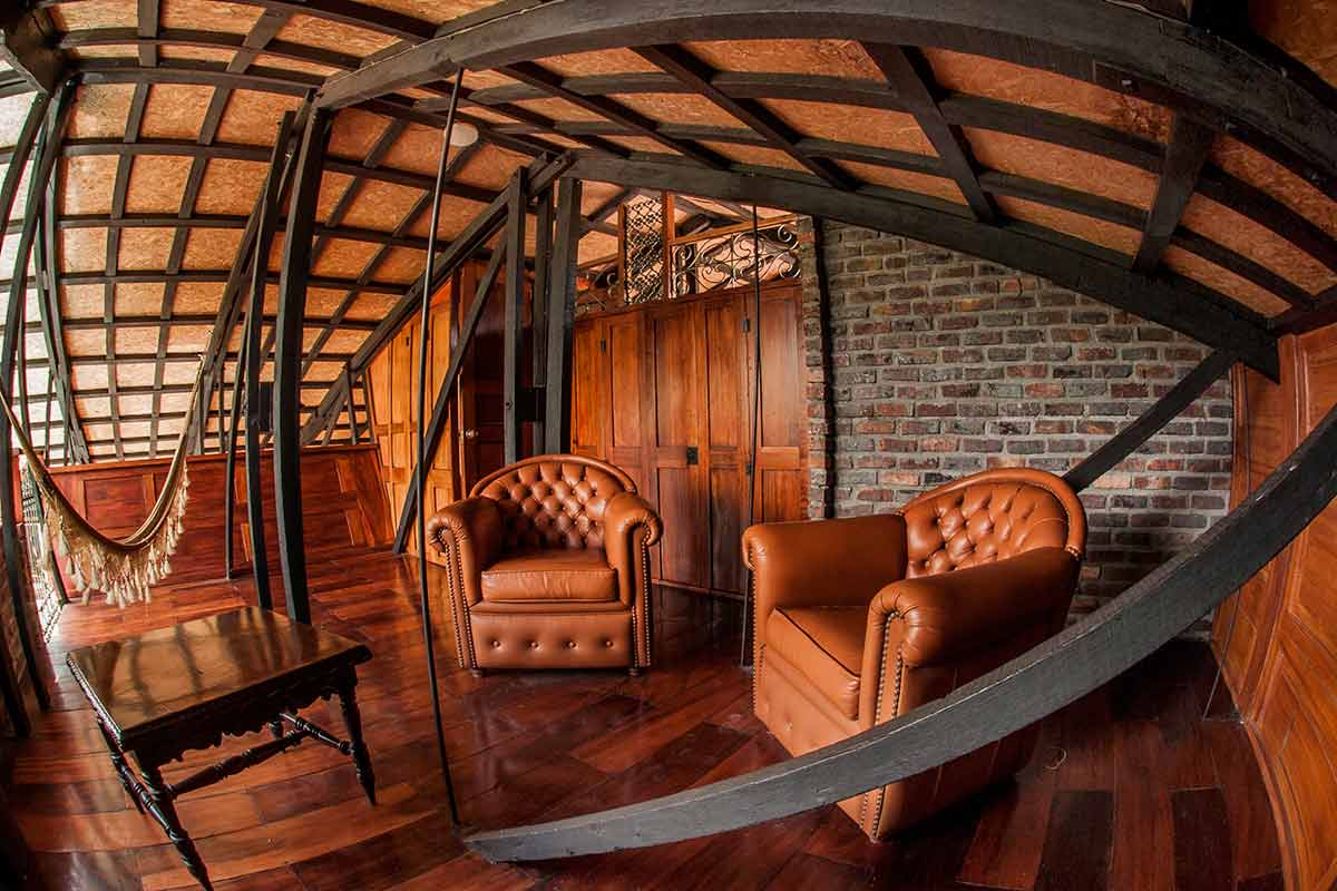 Hotel Santafe de Antioquia habitación Suite 3