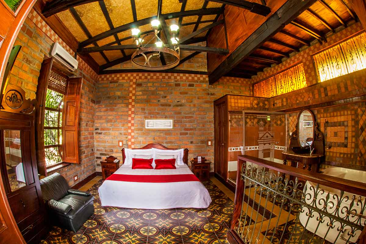 Hotel Santafe de Antioquia habitación Suite 4